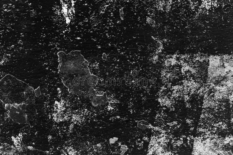 Achtergrond van de hoog gedetailleerde zwarte muur van de fragmentsteen stock foto