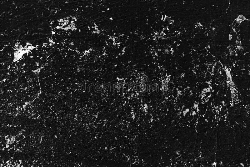 Achtergrond van de hoog gedetailleerde zwarte muur van de fragmentsteen royalty-vrije stock foto's