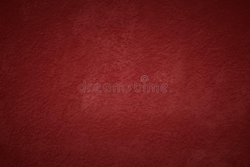 Achtergrond van de Kerstmis de rode geschilderde muur met exemplaarruimte stock fotografie