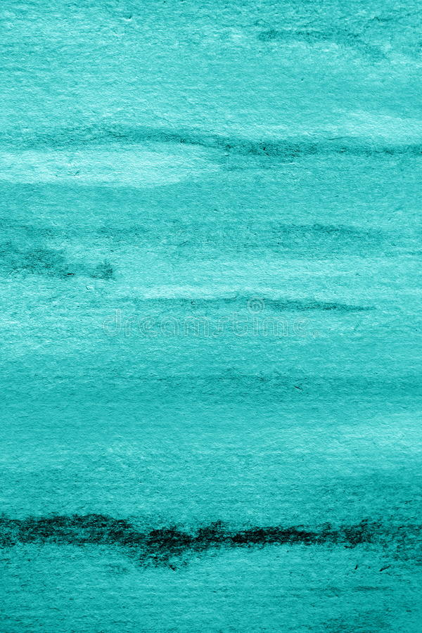 Achtergrond 2 van de pastelkleur Blauwe Waterverf royalty-vrije stock foto's
