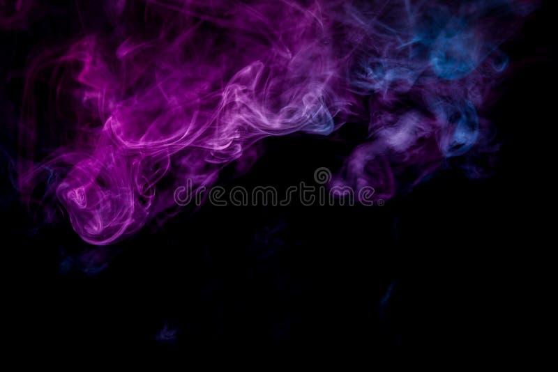 Achtergrond van de rook van vape vector illustratie