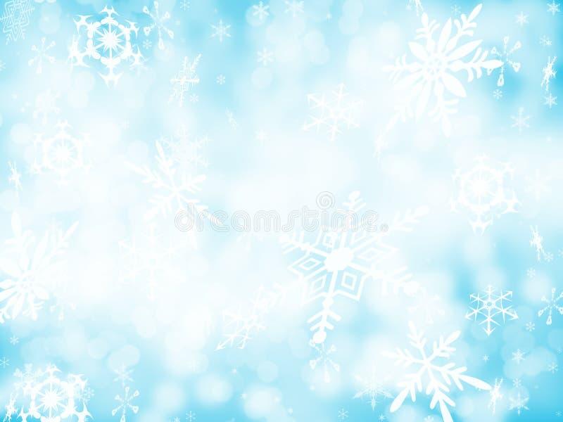 Achtergrond 1 van de sneeuw royalty-vrije stock fotografie