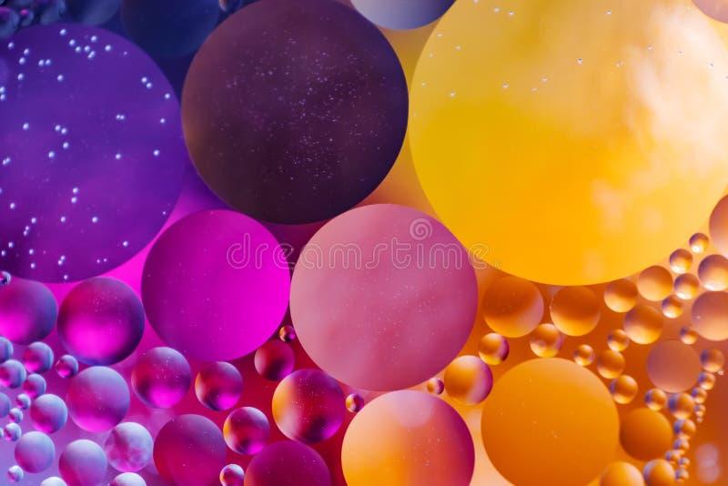 Achtergrond van de spectaculaire de ?Kosmos in de vorm van multicolored cirkels stock fotografie