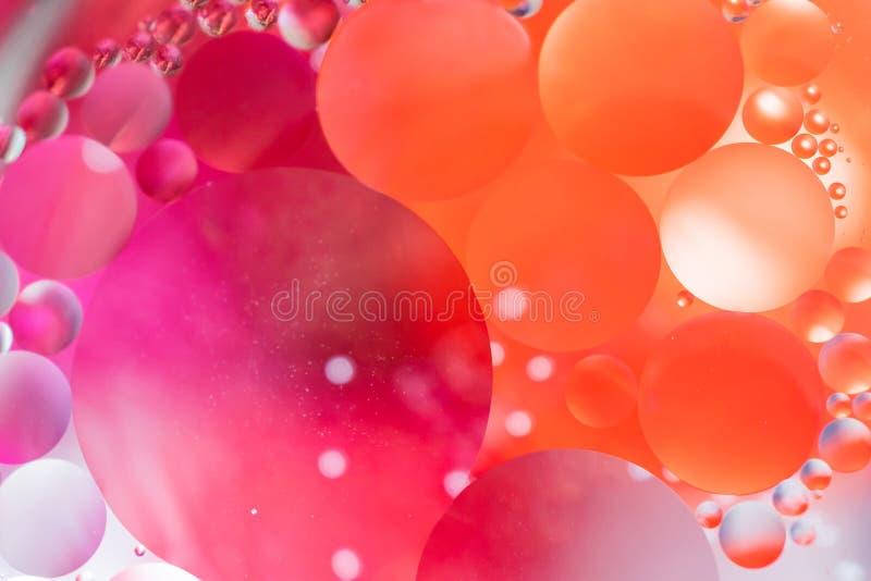 Achtergrond van de spectaculaire de ?Kosmos in de vorm van multicolored cirkels royalty-vrije stock fotografie