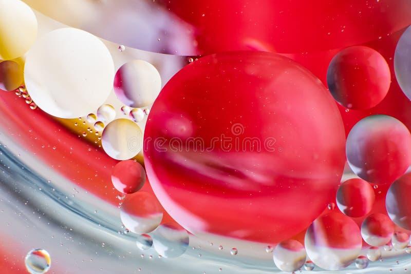Achtergrond van de spectaculaire de ?Kosmos in de vorm van multicolored cirkels stock foto