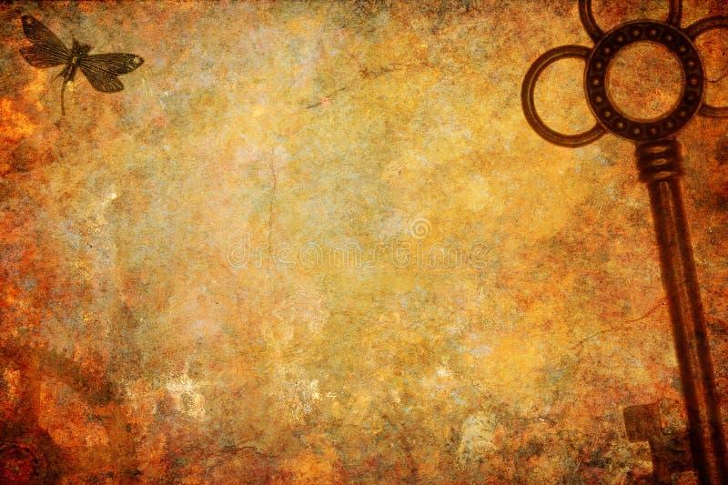 Achtergrond van de Steampunk de Industriële Textuur royalty-vrije stock fotografie