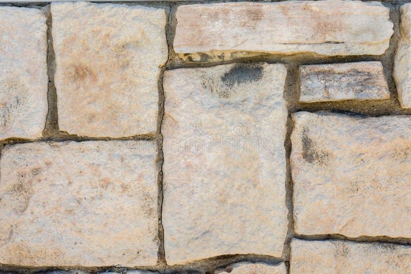 Achtergrond van de de tegelmuur van de Grunge de oude baksteen horizontale royalty-vrije stock afbeelding