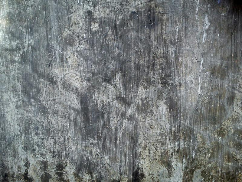 Achtergrond van de textuur de donkere vuile ruwe grunge van de cementmuur stock afbeelding