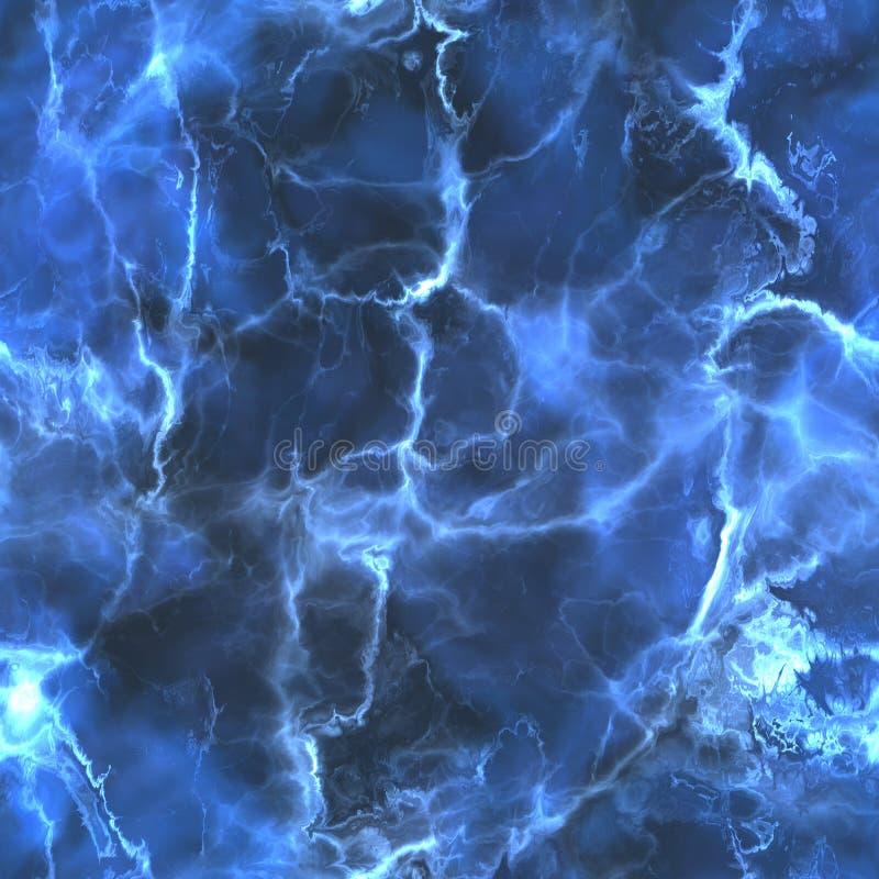 Achtergrond van de Tileable de blauwe marmeren textuur vector illustratie