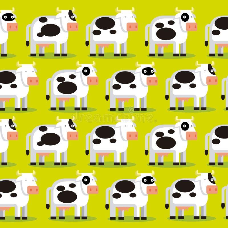 Download Achtergrond Van Een Groep Koeien Op Een Gebied Stock Illustratie - Illustratie bestaande uit aanbiddelijk, beeldverhaal: 39104485