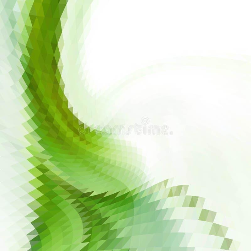 Achtergrond van geometrische vormen Kleurrijk mozaïekpatroon Retro achtergrond van de driehoekshoek royalty-vrije illustratie