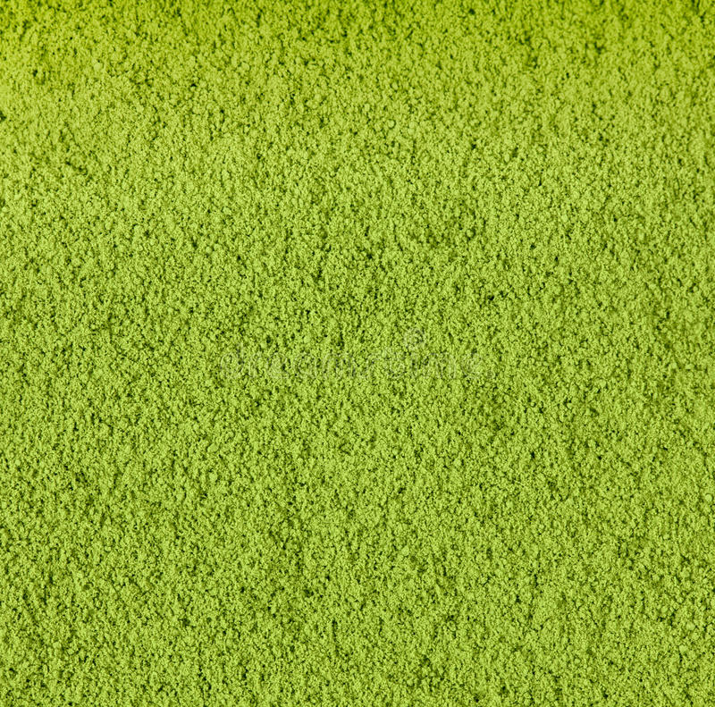 Achtergrond van groene thee stock afbeelding