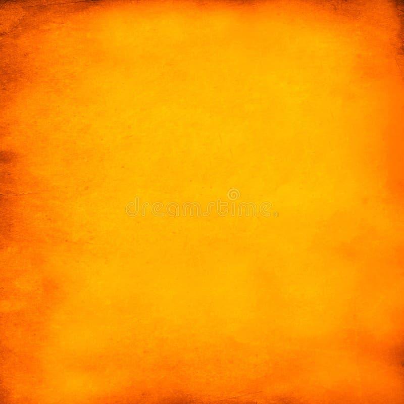 Achtergrond van Halloween van Grunge de Oranje stock afbeeldingen