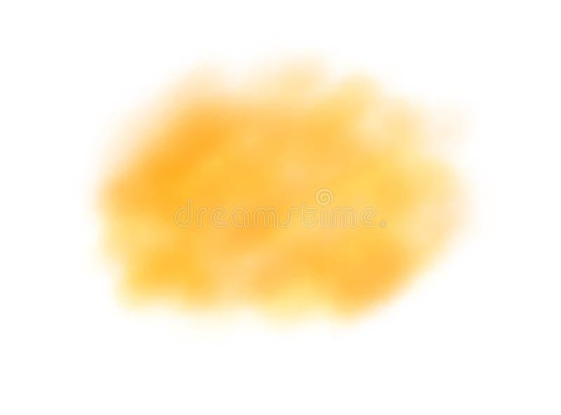 Achtergrond van het de waterverfembleem van de zacht-kleuren isoleert de uitstekende pastelkleur abstracte met gekleurde schaduwe stock illustratie