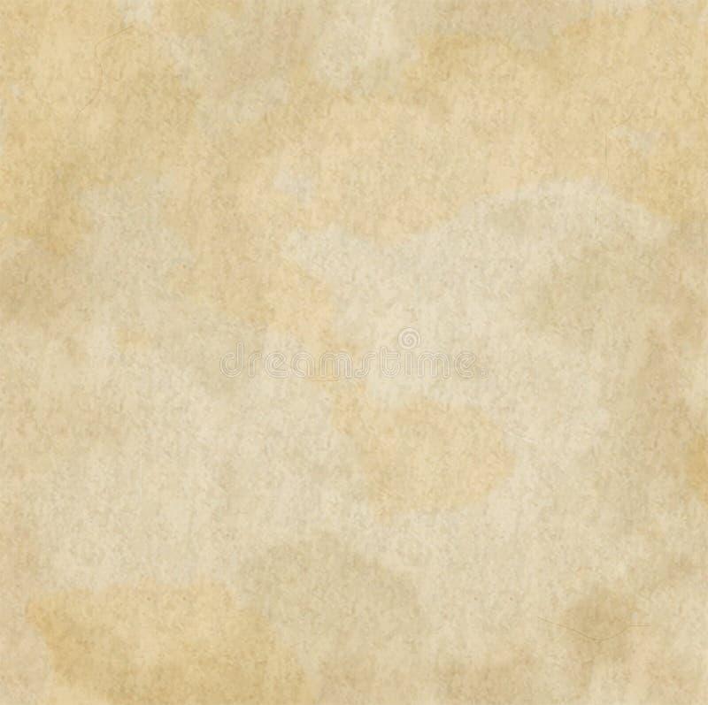 Achtergrond van het Document van Grunge de Oude vector illustratie