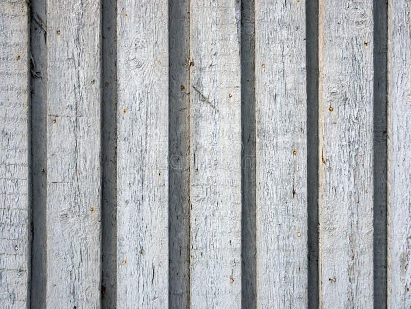 Achtergrond van het houten planken verbonden overlappen stock foto
