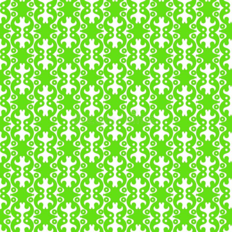 Achtergrond van het kruiken de Abstracte Naadloze Patroon stock illustratie