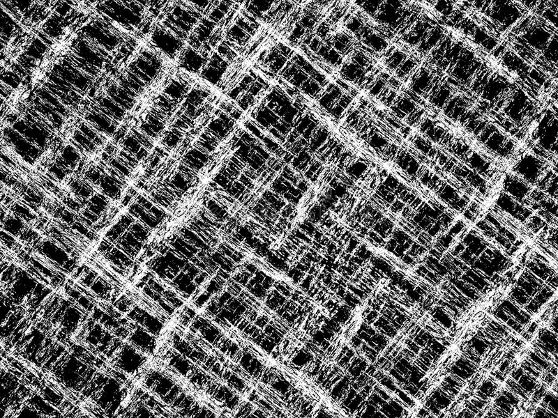 Achtergrond van het kunst grunge de zwart-witte abstracte patroon stock illustratie