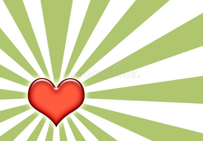 Achtergrond van het Patroon van de Liefde van Grunge de Abstracte vector illustratie