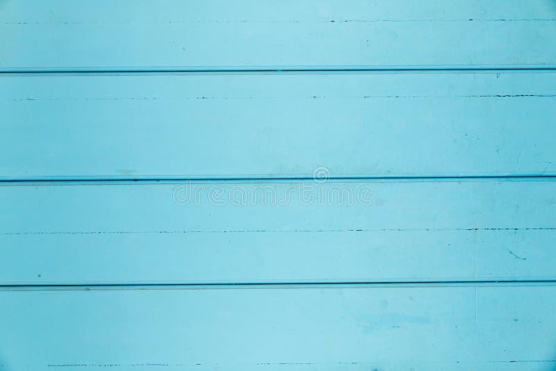 Achtergrond van het turkooise houten met panelen bekleden stock foto