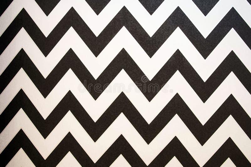 Achtergrond van het zigzag de Gestreepte naadloze patroon Retro stijl Malplaatje voor behang, het verpakken, textiel, stof Achter royalty-vrije stock afbeelding