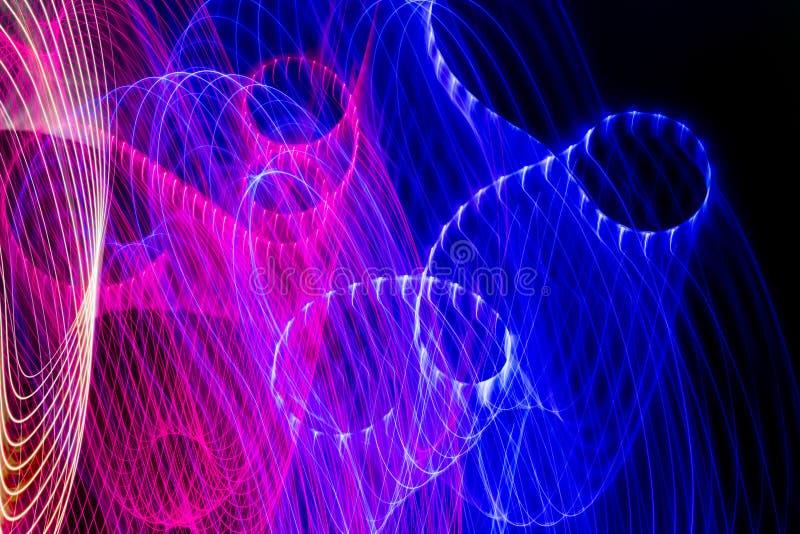 Achtergrond van kleuren de lichte absctract royalty-vrije illustratie