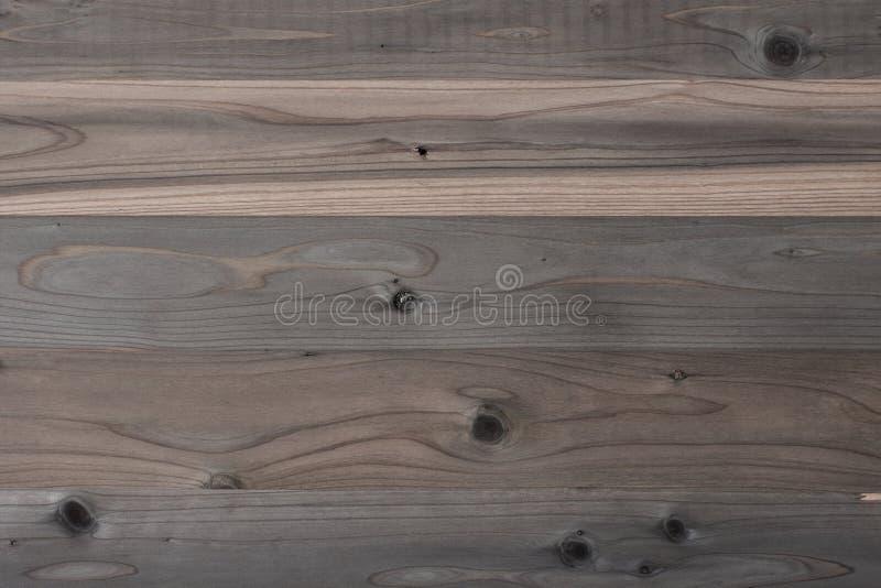 Achtergrond van langzaam verdwenen houten zolder stock afbeelding