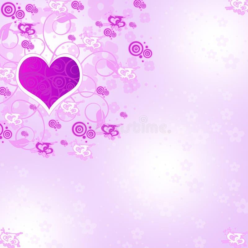 Achtergrond van liefde vector illustratie