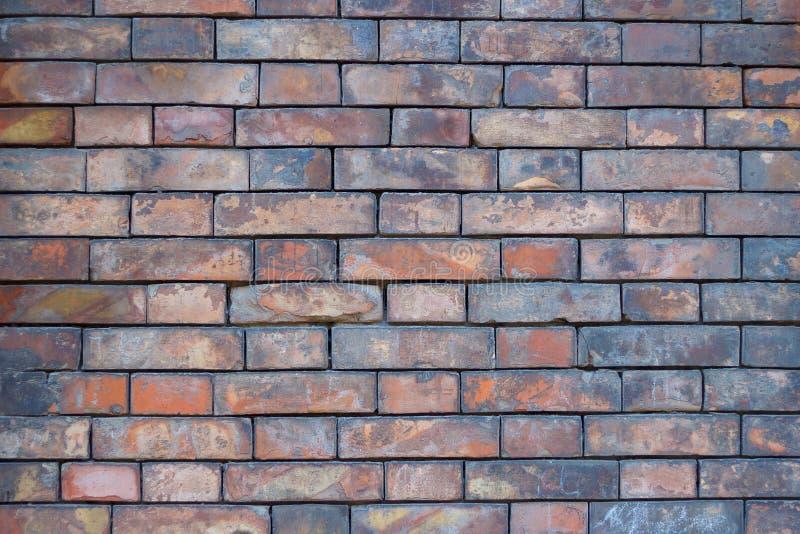 Achtergrond van oude uitstekende bakstenen muur royalty-vrije stock afbeelding