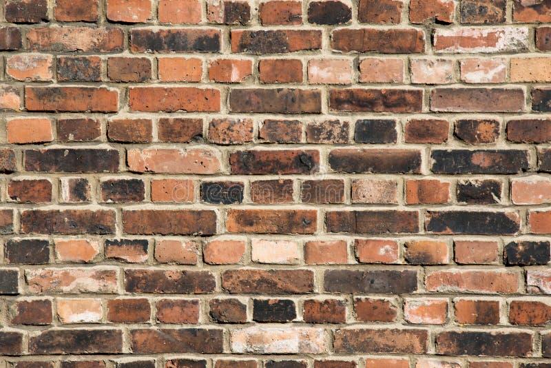 Achtergrond van oude uitstekende bakstenen muur Achtergrond van bakstenen muur t royalty-vrije stock foto's