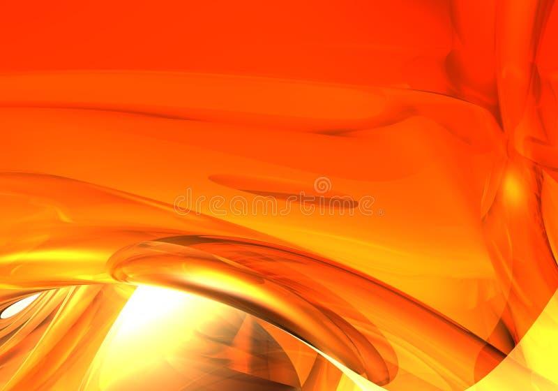 Achtergrond van Red&orange (samenvatting) 01 stock illustratie