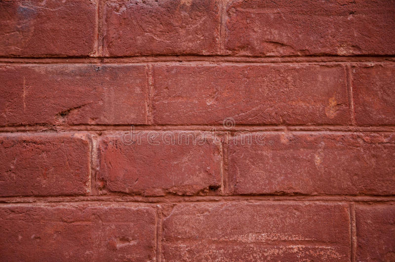 Achtergrond van rode baksteen royalty-vrije stock foto's