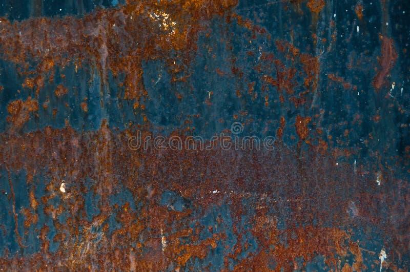 Achtergrond van roestig metaal royalty-vrije stock fotografie