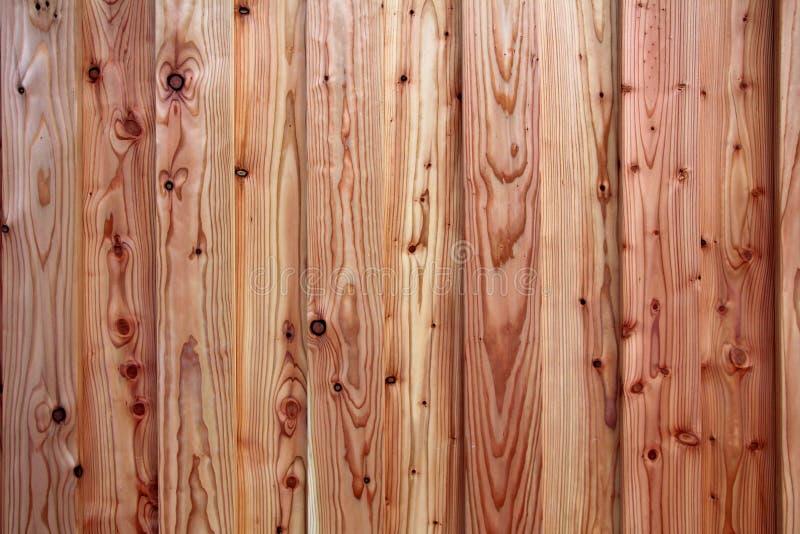 Achtergrond van rustical houten pijnboomplanken stock fotografie