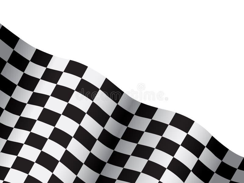 Achtergrond van schaak royalty-vrije illustratie