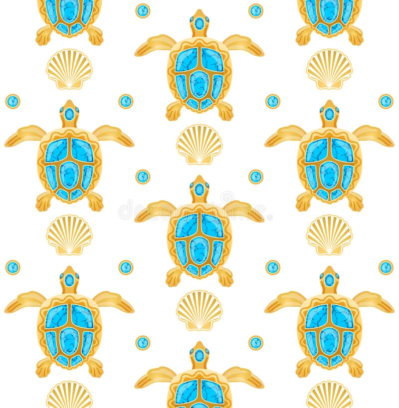 Achtergrond van schildpadden stock afbeelding
