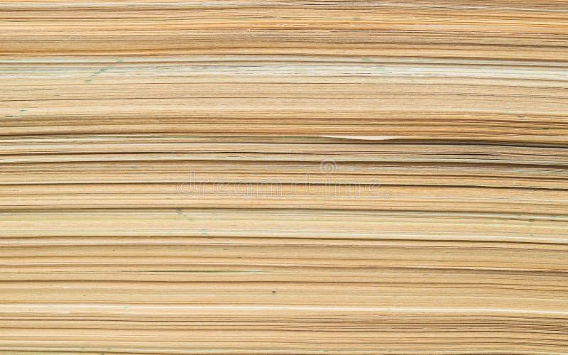 Een stapel van oud document stock foto