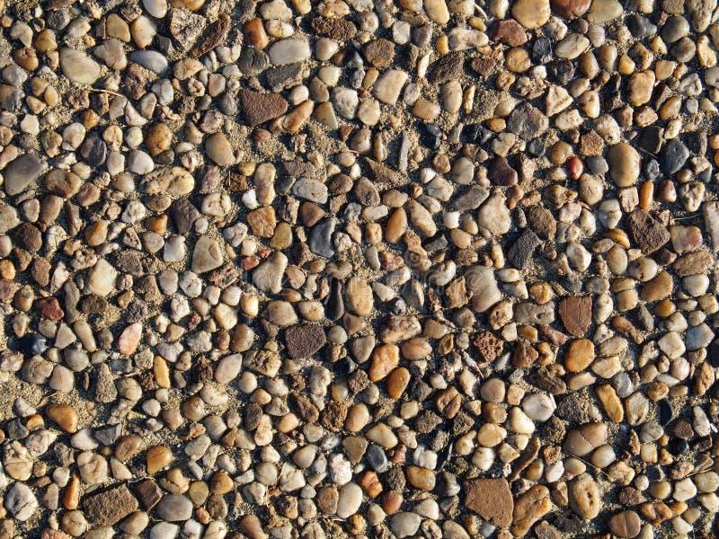Achtergrond van stenen stock foto