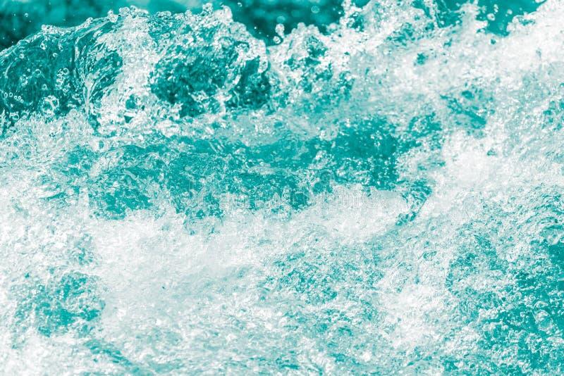 Achtergrond van stormachtig water met plonsen royalty-vrije stock foto's