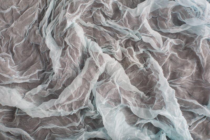Achtergrond van textieltextuur Macro stock afbeelding