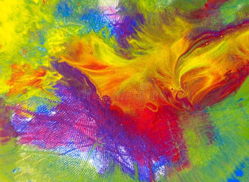 Achtergrond van verschillende kleurensamenvatting stock afbeeldingen