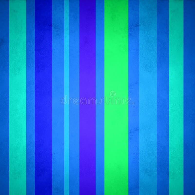 Achtergrond van verticale lijnen in blauw royalty-vrije illustratie