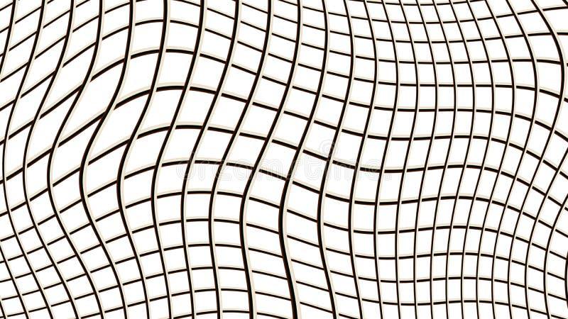 Achtergrond van vierkanten vector illustratie