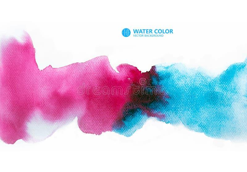 Achtergrond, Waterverfachtergrond, waterverf het schilderen, hand het schilderen royalty-vrije stock foto