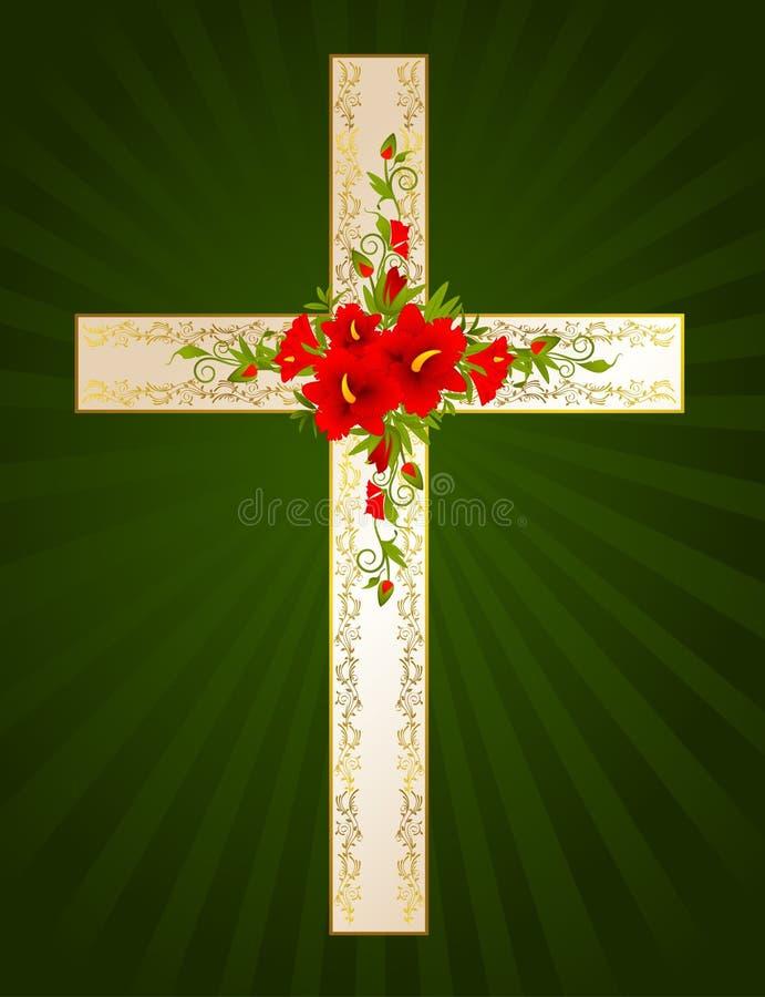 Achtergrond, zegen, katholicisme, christendom, c stock illustratie