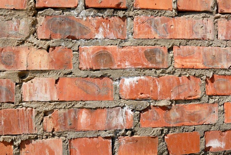 Achtergrondinzameling - bakstenen muur stock foto's