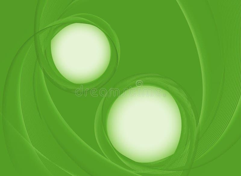 Achtergrondontwerp met groene abstracte patronen stock afbeeldingen