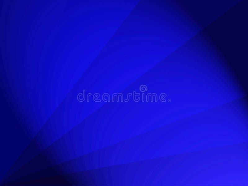 Achtergrondontwerpkoningsblauwen met stralen en donkere randen royalty-vrije illustratie