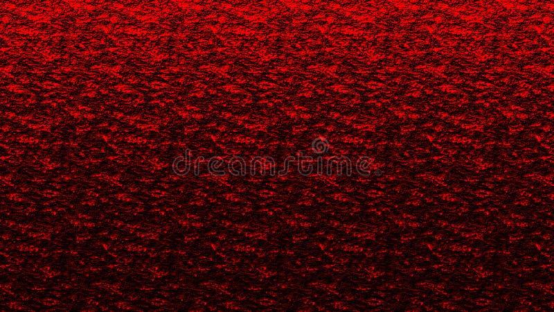 Achtergrondpatroon rood en zwart oceaaneffect royalty-vrije stock foto