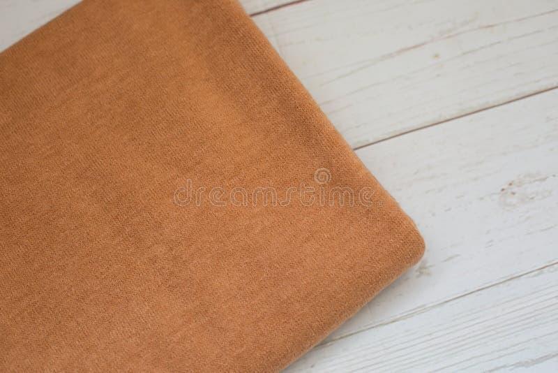 Achtergrondtextuur van Angora stof de stof van Jersey royalty-vrije stock afbeelding